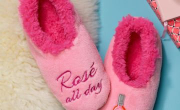Rose Snoozie Slippers