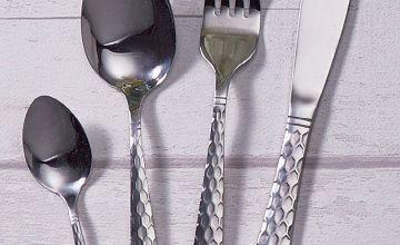 16-Piece Swan Geo Cutlery Set