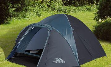 Trespass Ghabher 4 Man Double Skin Tent