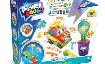 Power Dough Vehicles Large Kit