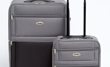 Two-Tone Luggage Set