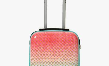 Ombre Mermaid Suitcase