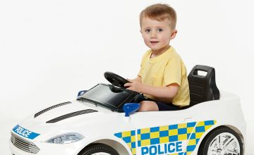 Police Electric Sports Car