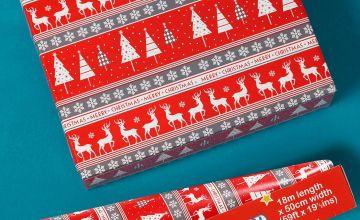18m Nordic Reindeer Wrap Dispenser