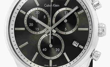 Calvin Klein Formality Chronograph Black Detail Watch