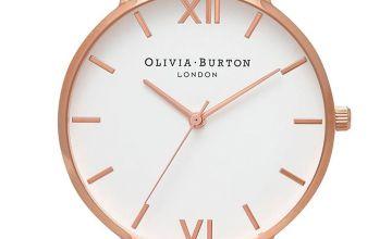 Olivia Burton 3D Bee Strap Watch