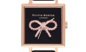Olivia Burton Vintage Bow Square Watch