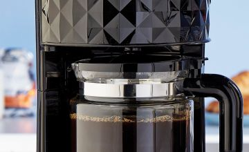 Diamond Black Coffee Maker
