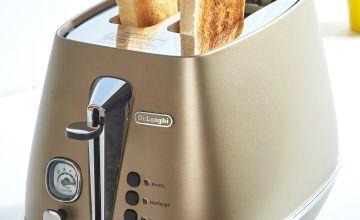 Delonghi Distinta Bronze 2 Slice Toaster