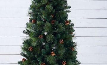 Unlit Pine Cone Christmas Tree