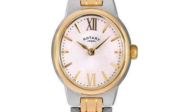 Rotary Ladies Two Tone Stainless Steel Olivie Watch