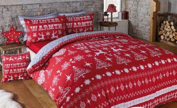 Winter Fairisle Duvet Set