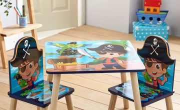 Pirate Wooden Table and Chairs