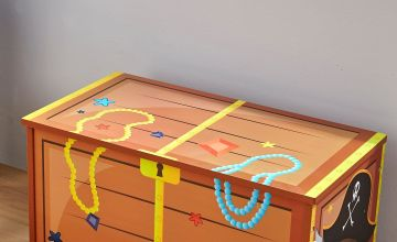 Wooden Toy Box with Lift Lid