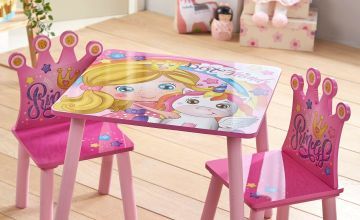 Princess Wooden Table and Chairs