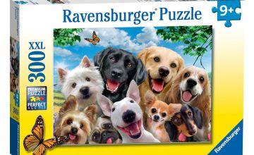 Delighted Dogs Selfie Jigsaw 300 Piece