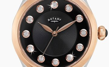 Rotary Ladies Two Tone Stone Set Watch