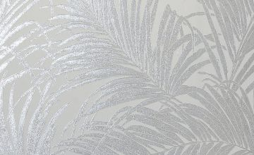 Luxe Palm Kiss Foil Wallpaper
