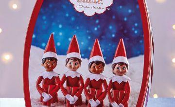 Elf On The Shelf Biscuit Tin
