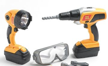Tool Tech Drill and Work Light Play Set