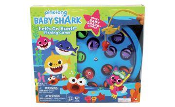 Baby Shark Go Fishing Game