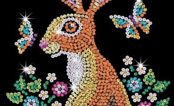 Sequin Art Hare