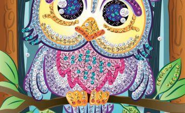 Sequin Art Owl