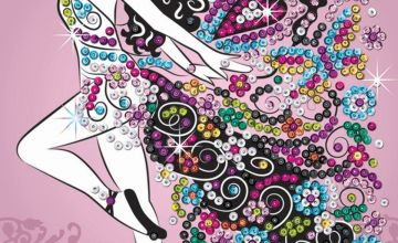 Sequin Art Fairy