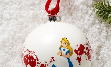 We Are All Mad in Here Alice in Wonderland Bauble
