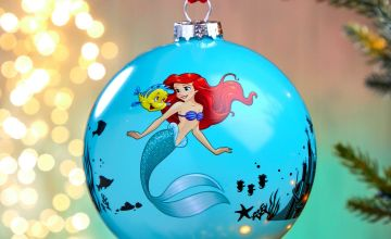 Life is Bubbles The Little Mermaid Bauble
