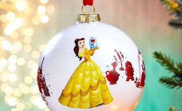 Be Our Guest Beauty and the Beast Bauble