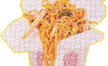 Chinese Takeaway 250 Piece Jigsaw Puzzle
