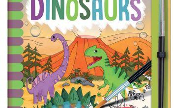 Dinosaur Watercolour Book