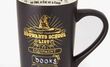 Hogwarts School List Chalkboard Mug