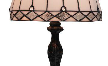 Sarpu Silver Tiffany Table Lamp