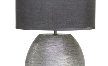 Waltham Silver Table Lamp