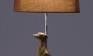 Sitting Dog Table Lamp