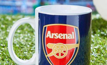 Arsenal Half Tone Mug