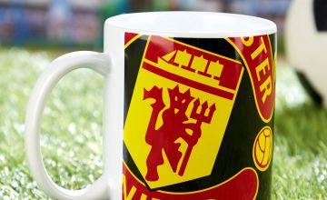 Man Utd Half Tone Mug