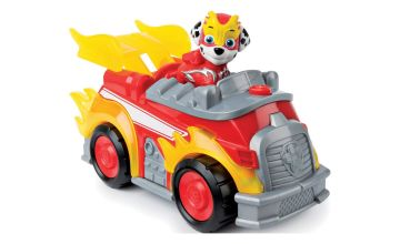 Paw Patrol Mighty Pups Superpaws Marshall Deluxe Vehicle