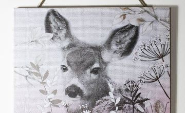 Blush Bambi Canvas