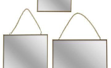 Set of 3 Asymmetric Mirrors