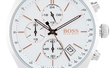 Hugo Boss Brown Grand Prix Watch