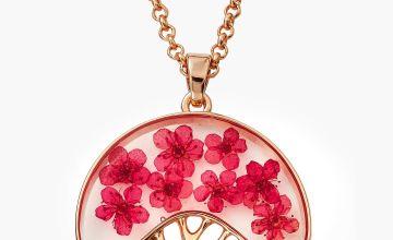 Eternal Flowers RGP Tree of Flowers Necklace