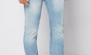 Denim Straight Fit Jeans