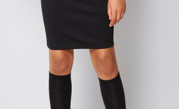 Girls Ponte Pencil Skirt