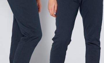 Unisex Pack of 2 Navy Joggers