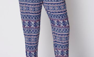 Printed Woven Trousers