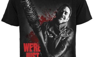 Negan Just Getting Started The Walking Dead T-Shirt