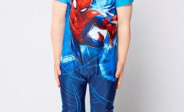 Boys Spider-Man UV Suit